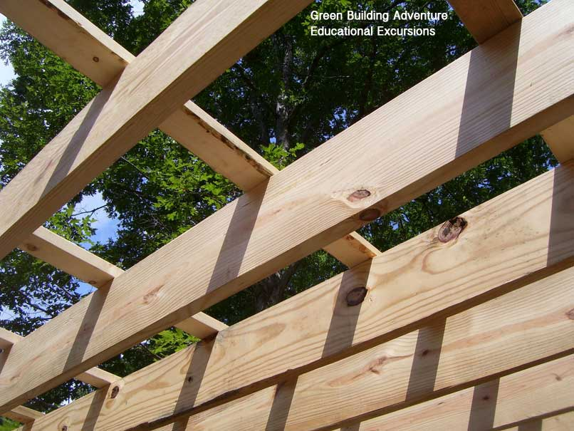Green Building Adventure Sheathing And Second Floor